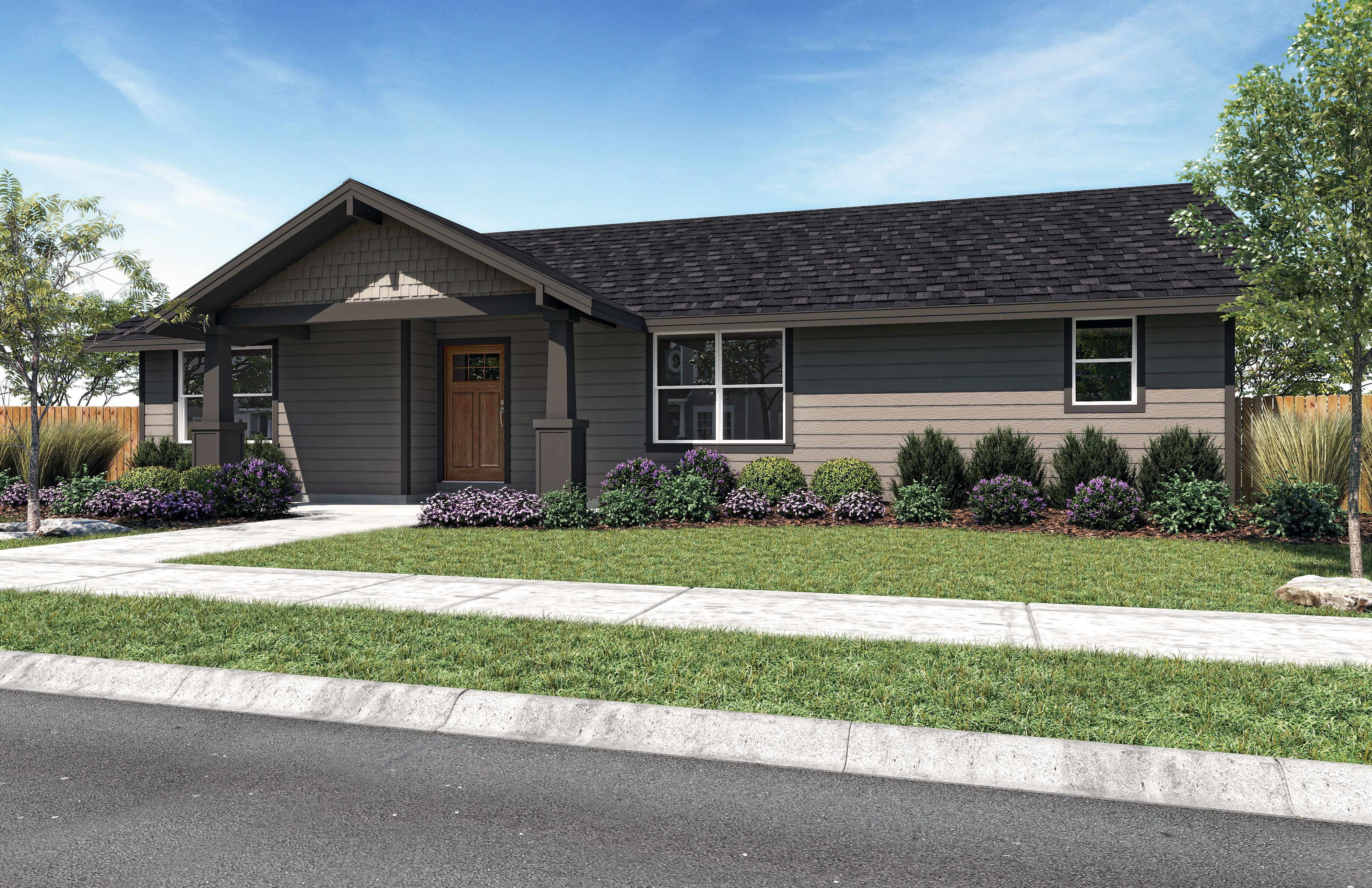Exterior featured in the Juniper B By Woodhill Homes in Central Oregon, OR