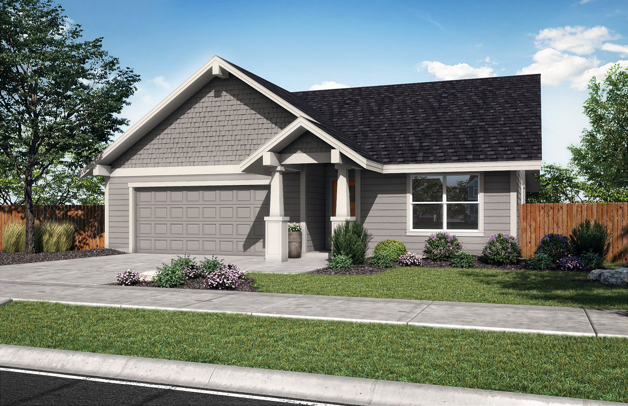 Exterior featured in the Laredo B By Woodhill Homes in Central Oregon, OR