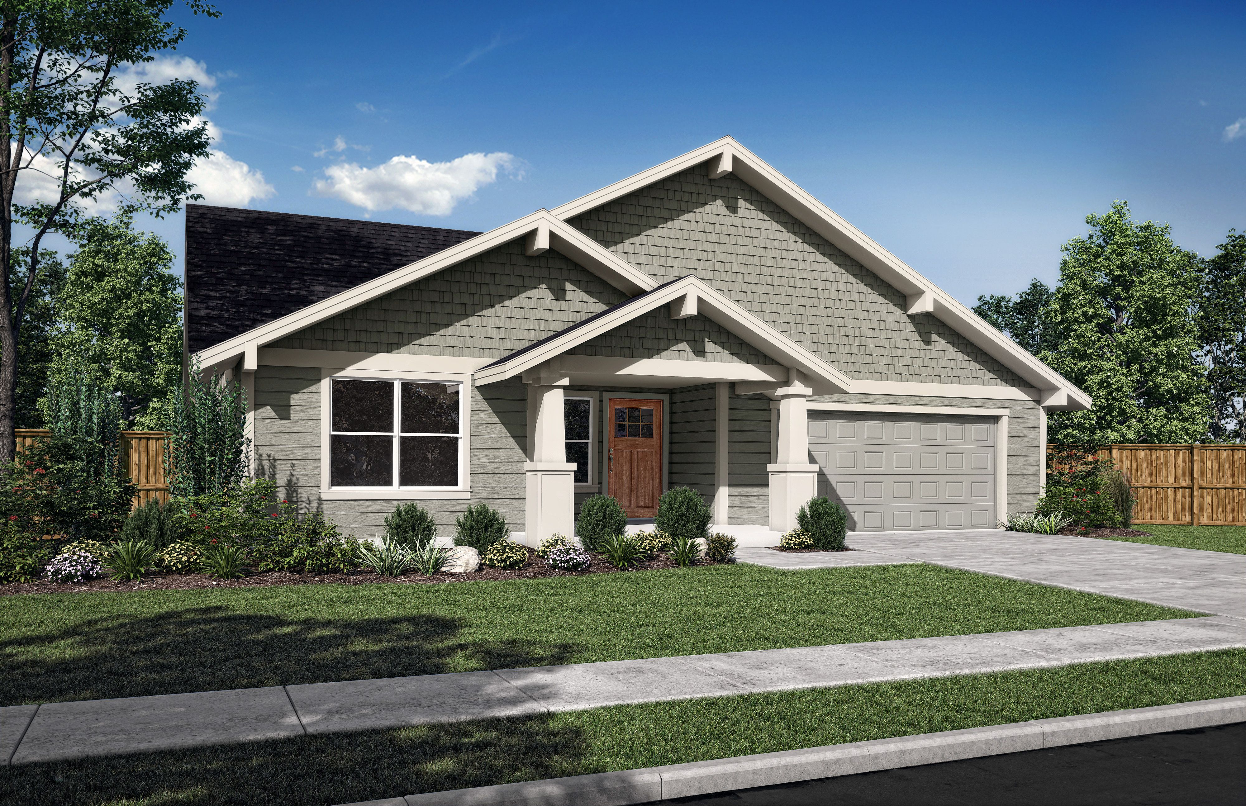 Exterior featured in the Sequoia A By Woodhill Homes in Central Oregon, OR