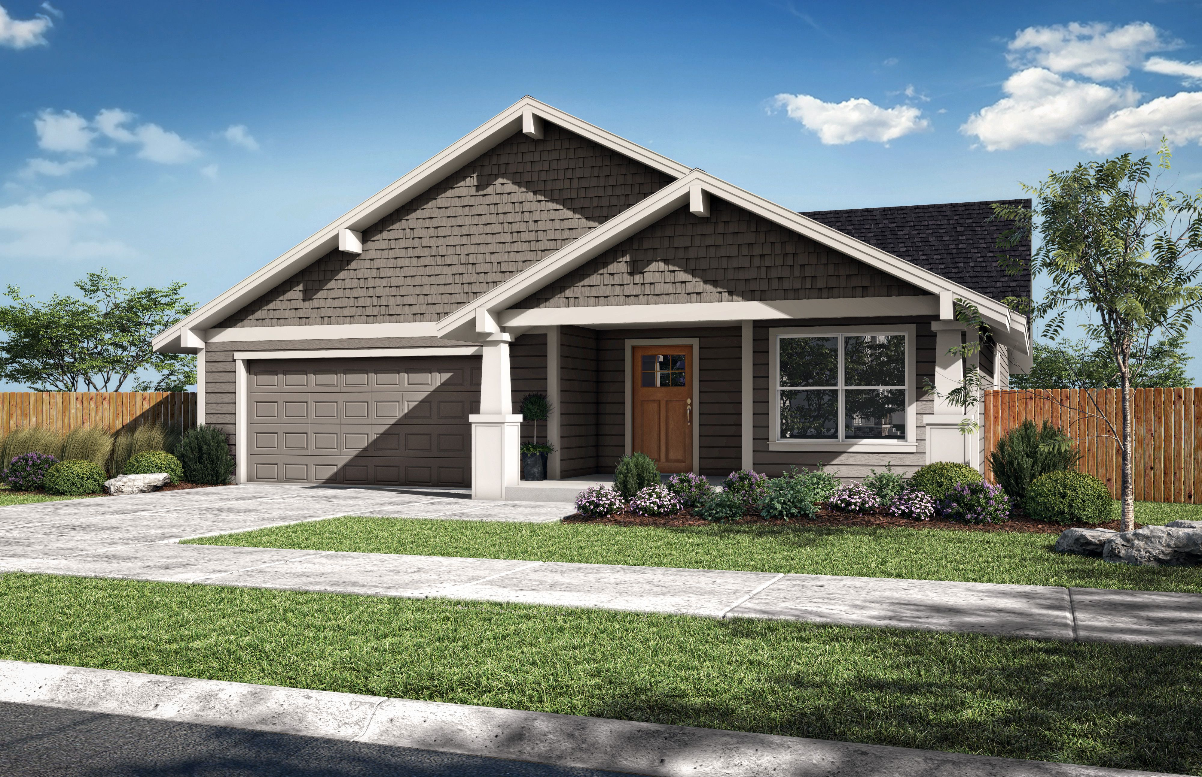 Exterior featured in the Timber A By Woodhill Homes in Central Oregon, OR