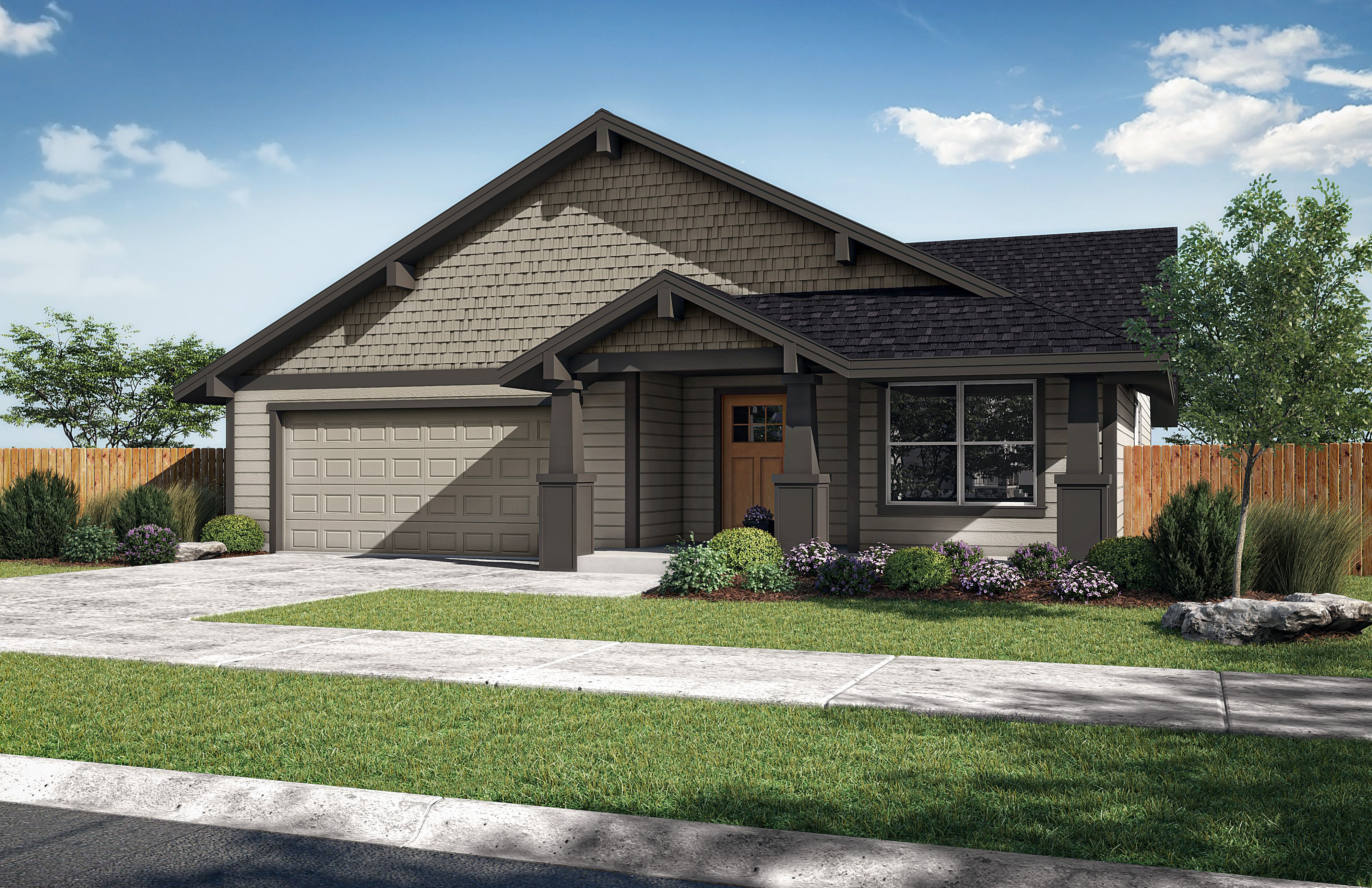 Exterior featured in the Timber B By Woodhill Homes in Central Oregon, OR