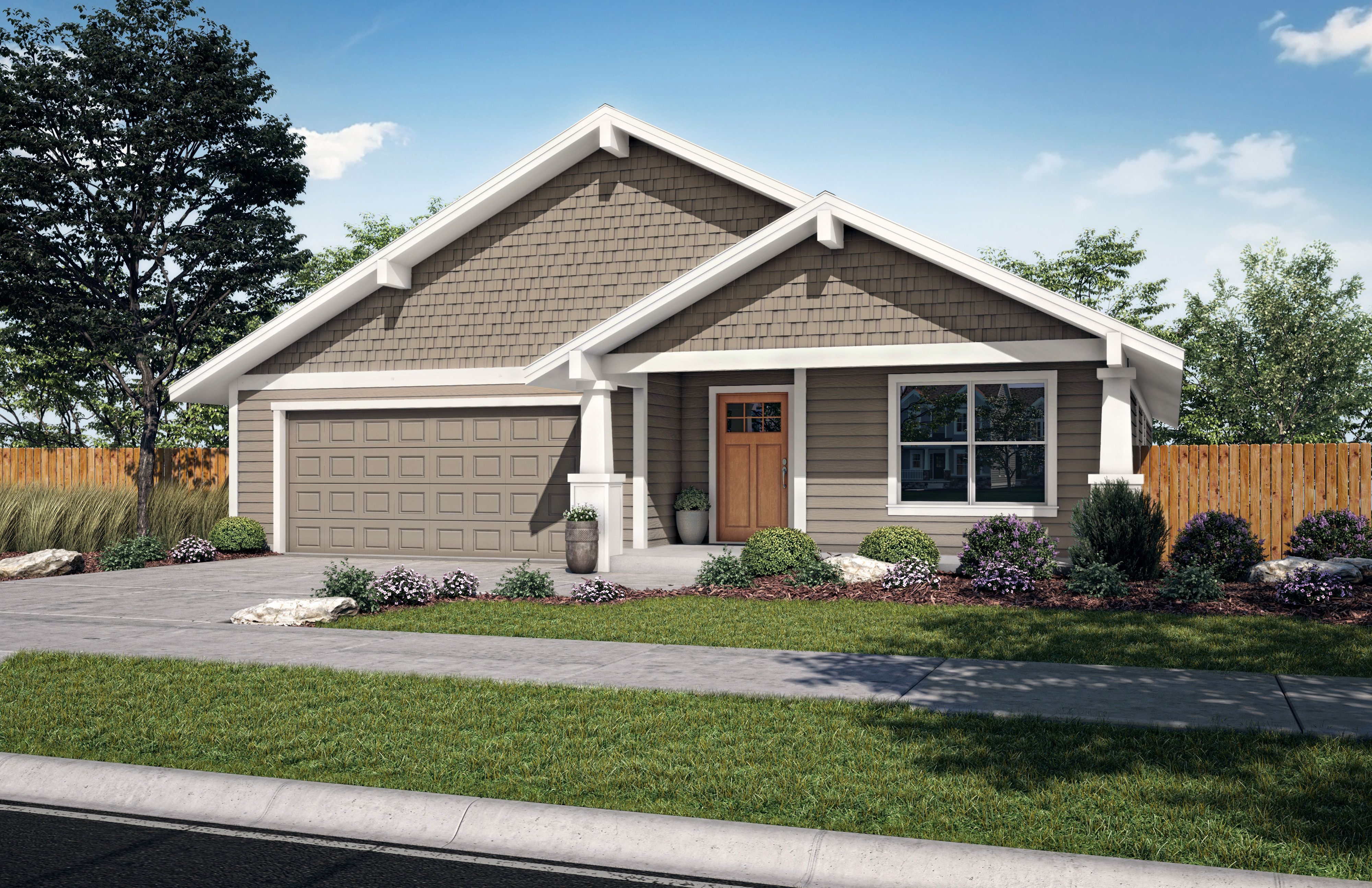 Exterior featured in the Sage B By Woodhill Homes in Central Oregon, OR