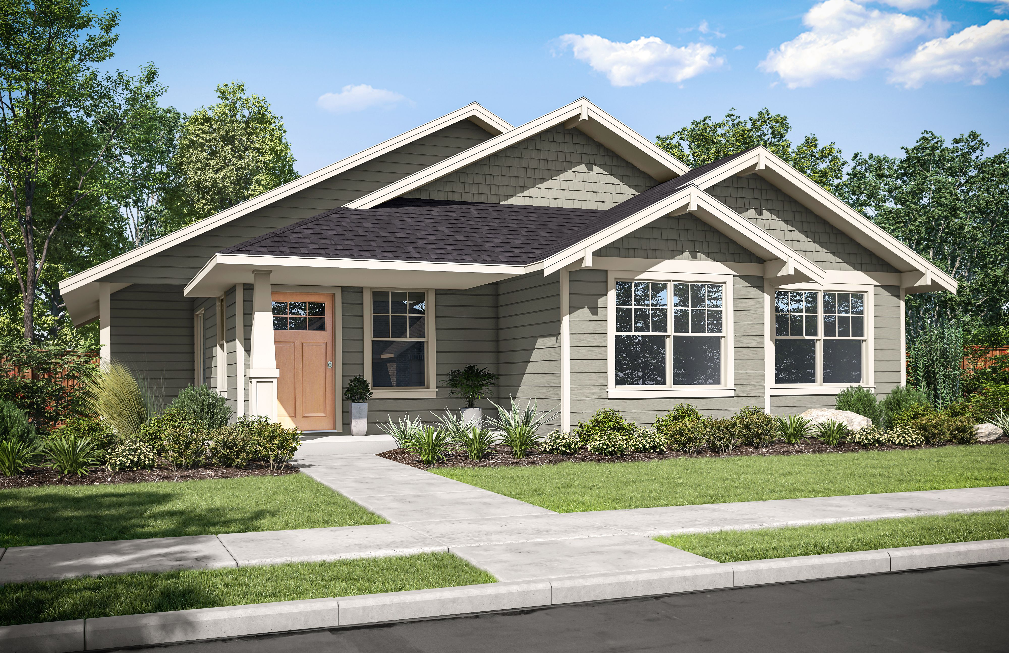 Exterior featured in the Monterrey By Tailored by Woodhill Homes in Central Oregon, OR