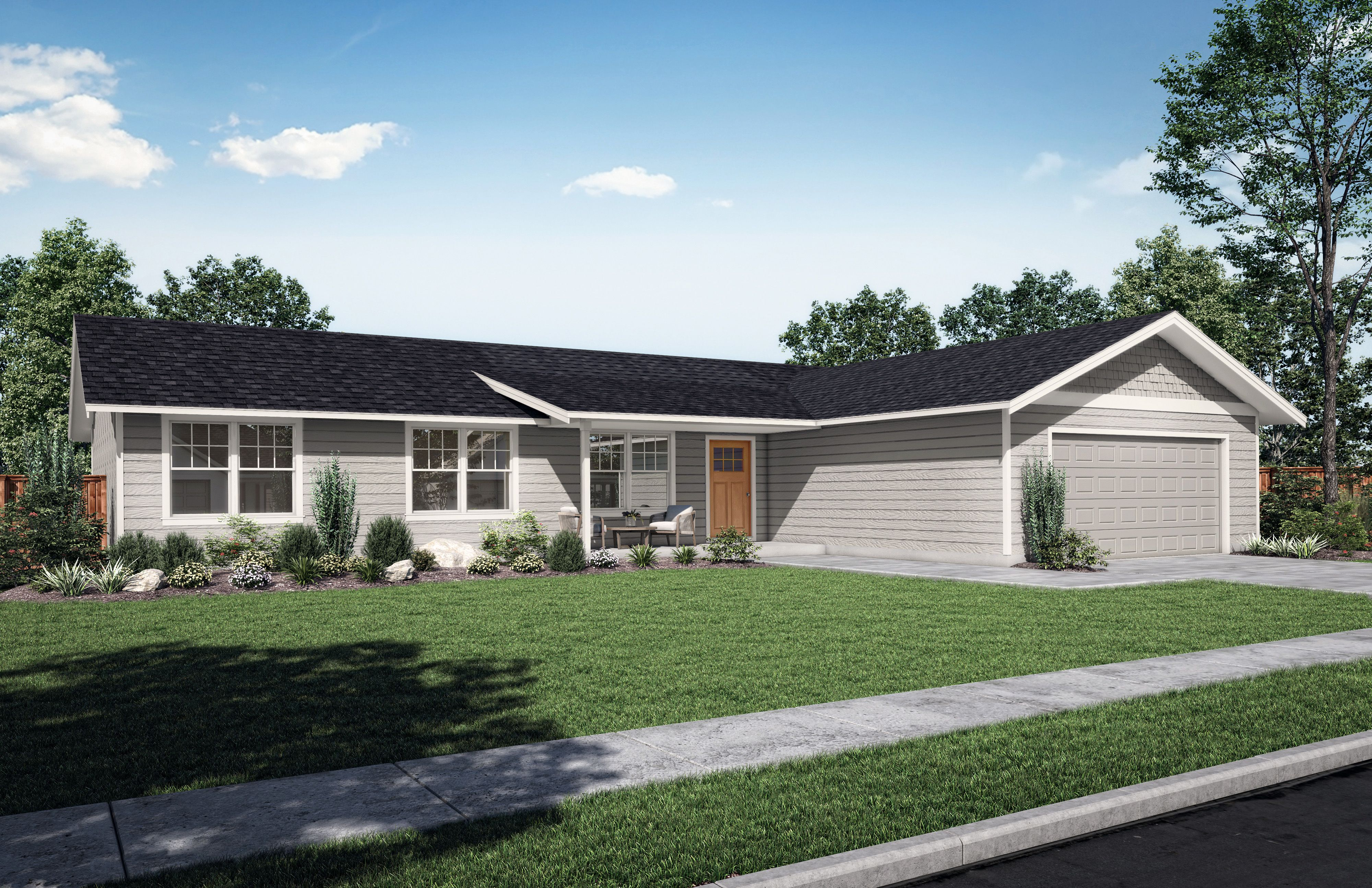 Exterior featured in the Spruce By Tailored by Woodhill Homes in Central Oregon, OR