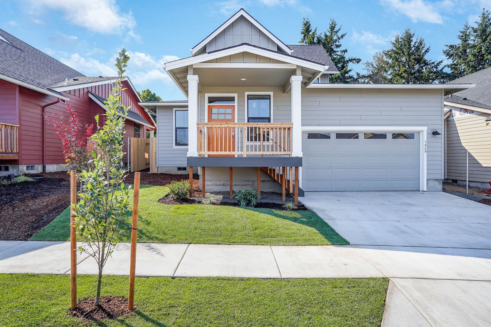 Exterior featured in The Weatherford By Woodhill Homes in Corvallis, OR