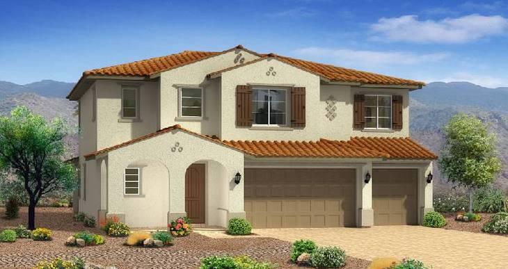 Elevation:Woodside Homes - Cedar Plan