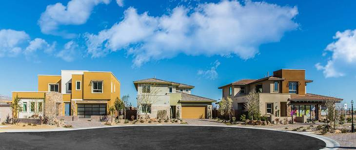 Woodside Homes Skystone in Summerlin
