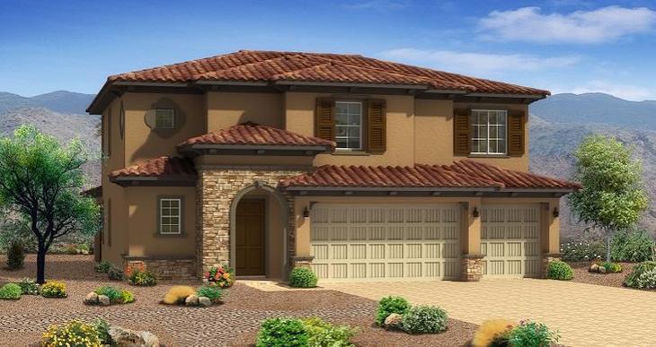 Elevation:Woodside Homes - Cedar Plan - Lot 6