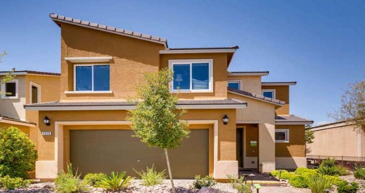 Elevation:Woodside Homes - Sunset Plan