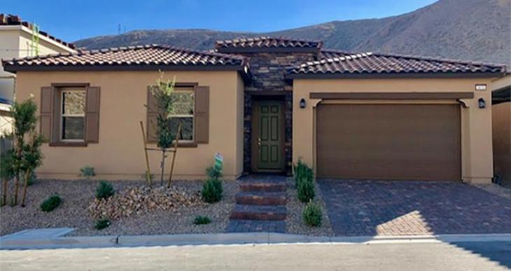 Elevation:Woodside Homes - Bianca Plan - Lot 374