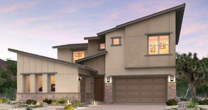 Elevation:Woodside Homes - Vernazza Plan - Lot 24