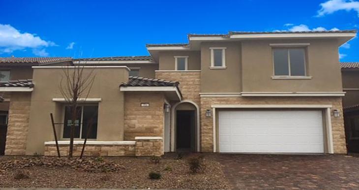 Elevation:Woodside Homes - Vernazza Plan - Lot 33