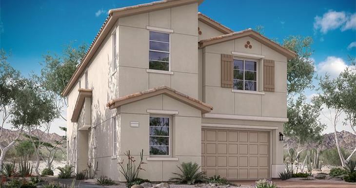 Elevation:Woodside Homes - Verona Plan - Lot 84