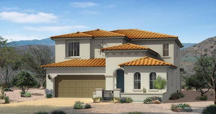 Elevation:Woodside Homes - Broadway Plan