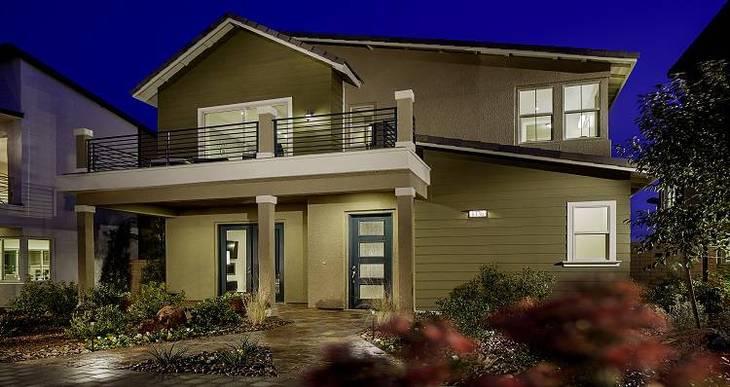 Elevation:Woodside Homes - Seton - Plan 1