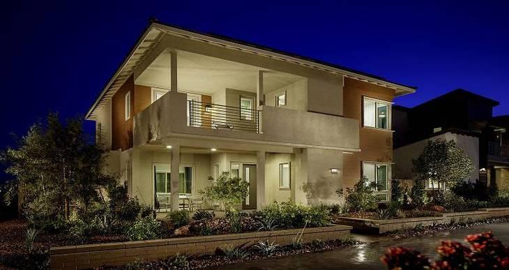 Elevation:Woodside Homes - Delano - Plan 3