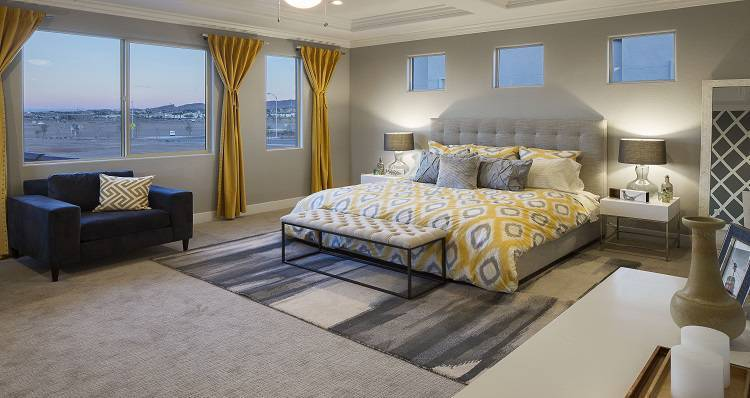 Bedroom-in-Delano - Plan 3-at-Cadence At The Park-in-Henderson