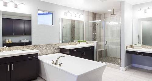 Bathroom-in-Delano - Plan 3-at-At The Park in Cadence-in-Henderson