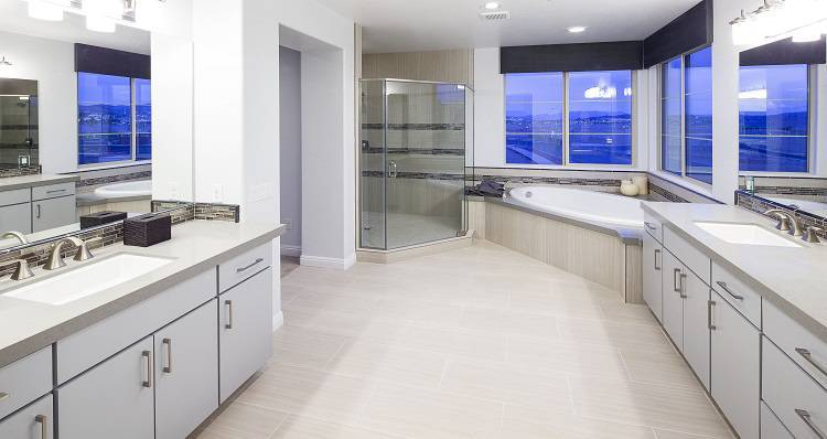 Bathroom-in-Madison - Plan 4-at-Cadence At The Park-in-Henderson