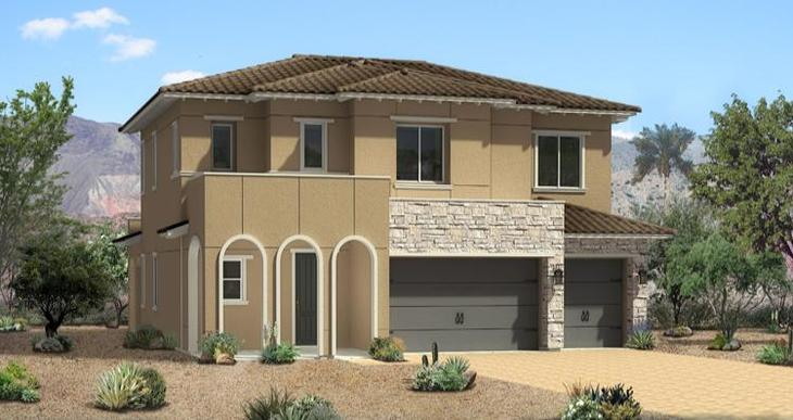 Elevation:Woodside Homes - Castellato  Plan