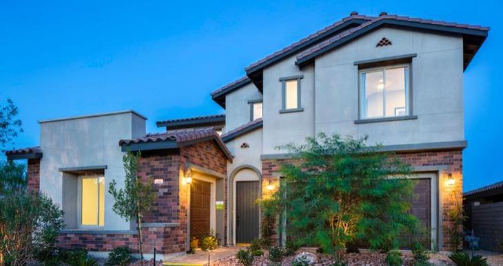 Elevation:Woodside Homes - Vernazza Plan