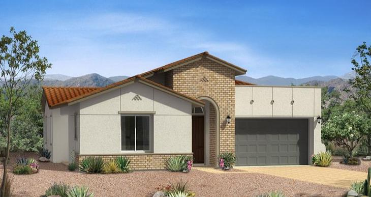 Elevation:Woodside Homes - Brandale Plan - Lot 123