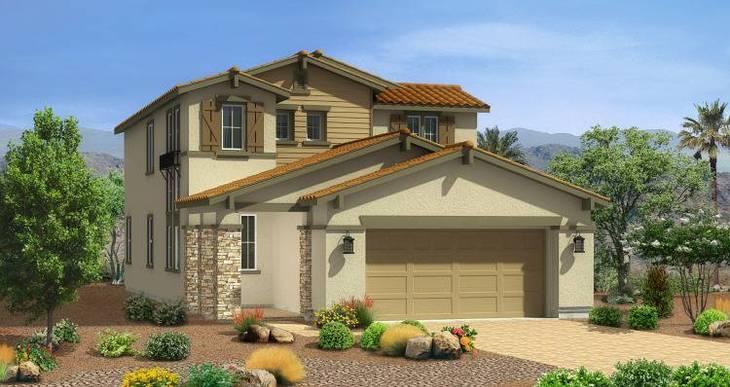 Elevation:Woodside Homes - Casper Plan