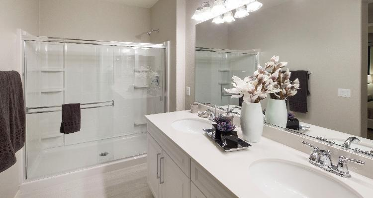 Bathroom-in-Crescent Plan-at-Laguna at Tierra Santa-in-North Las Vegas
