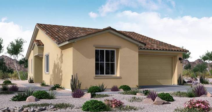 Elevation:Woodside Homes - Victory Plan