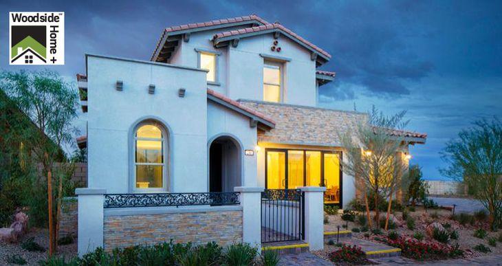 Elevation:Woodside Homes - Portofino Plan