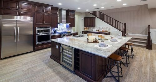 Kitchen-in-Pelham Plan-at-At The Park in Cadence-in-Henderson