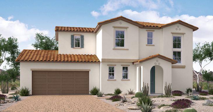 Elevation:Woodside Homes - Tahoe Plan