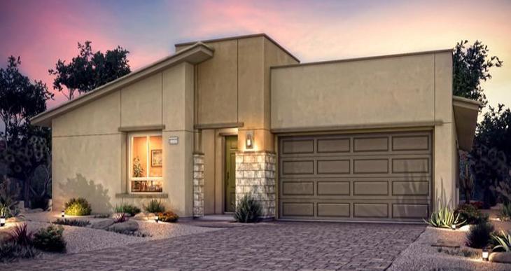 Elevation:Woodside Homes - Brandale Plan