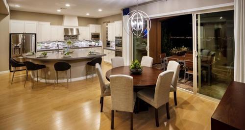 Kitchen-in-Brandale Plan-at-Skystone in Summerlin-in-Las Vegas