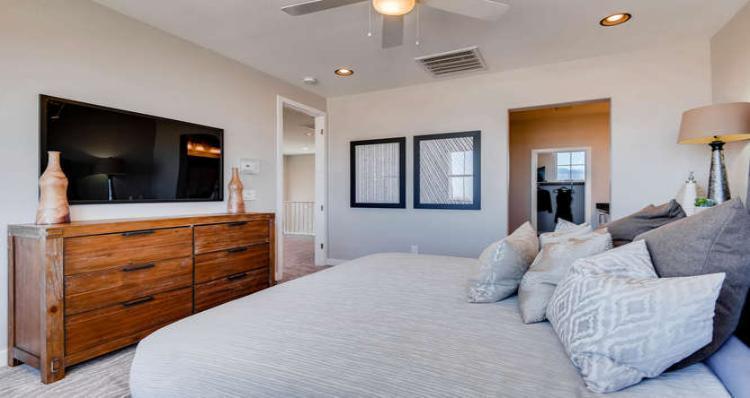 Bedroom-in-Dakota Plan-at-Pinyon Chase at Skye Canyon-in-Las Vegas