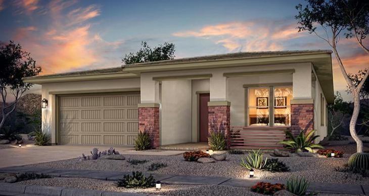 Elevation:Woodside Homes - Montara Plan