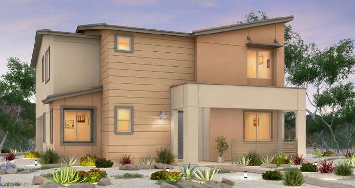 Elevation:Woodside Homes - Gardenia Plan - Lot 14