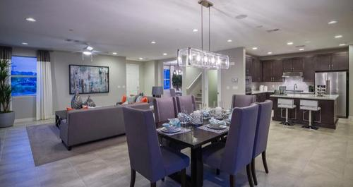 Kitchen-in-Gardenia Plan-at-At The Park in Cadence-in-Henderson