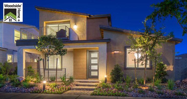 Elevation:Woodside Homes - Lilac Plan