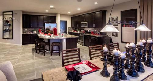 Kitchen-in-Broadway Plan-at-Passages at The Cove-in-Las Vegas