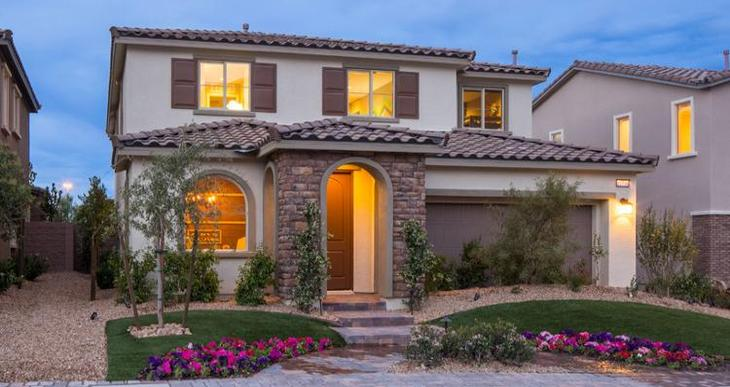 Elevation:Woodside Homes - Liberty Plan