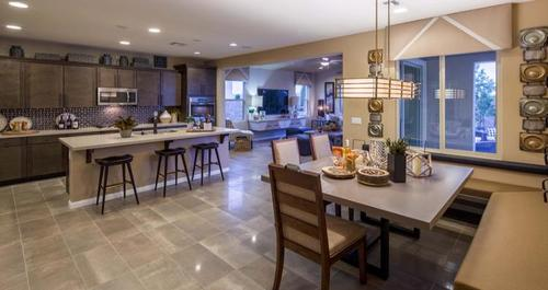 Kitchen-in-Barclay Plan-at-Passages at The Cove-in-Las Vegas