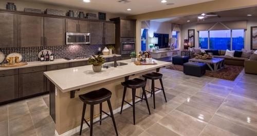 Greatroom-and-Dining-in-Barclay Plan-at-Passages at The Cove-in-Las Vegas