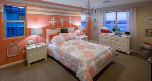 Bedroom-in-Barclay Plan-at-Passages at The Cove-in-Las Vegas