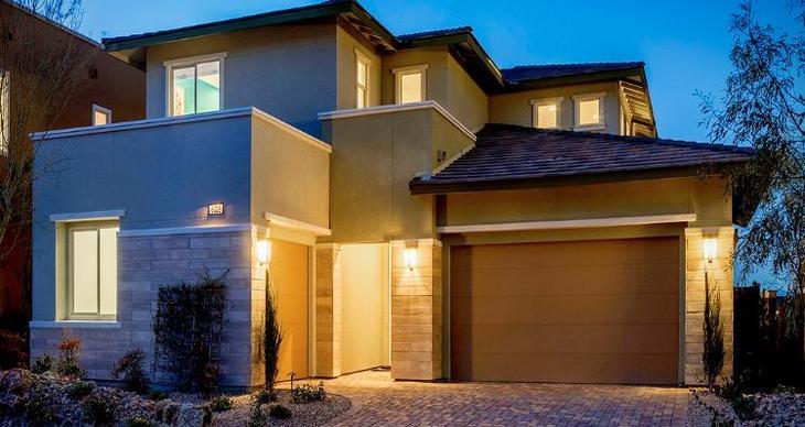 Elevation:Woodside Homes - Biella Plan