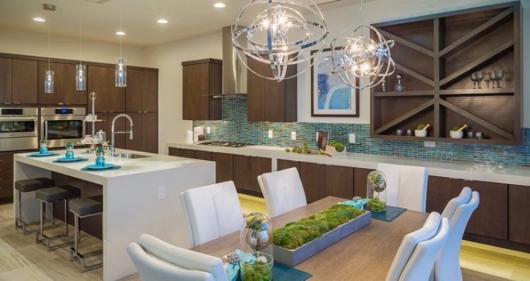 Kitchen-in-Biella Plan-at-Skystone in Summerlin-in-Las Vegas