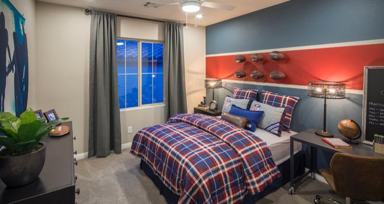 Bedroom-in-Sarasate Plan-at-Overlook at The Cove-in-Las Vegas