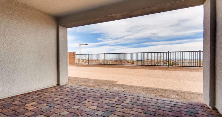 Patio-in-Brandale Plan - L-at-Skystone in Summerlin-in-Las Vegas