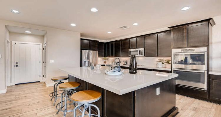 Kitchen-in-Davenport Plan 6-at-Bixby Creek in Summerlin Collection Two-in-Las Vegas