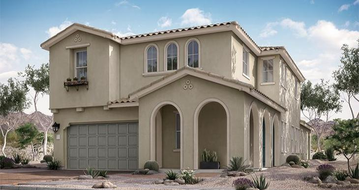 Elevation:Woodside Homes - Barclay Plan